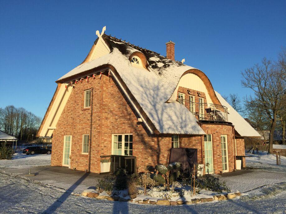 Winter auf Rügen -Ferienhaus Rügen-Traum