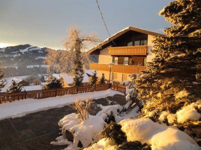 Zugspitzblick im Haus Panorama