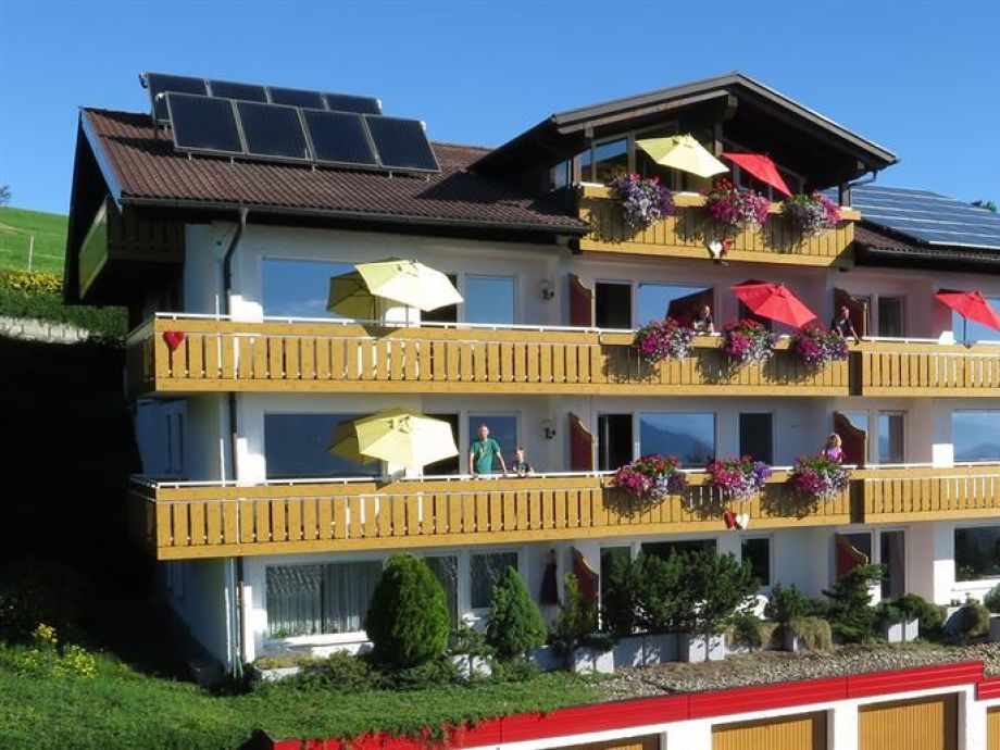 Ferienwohnung Allgäublick im Haus Panorama Oberallgäu