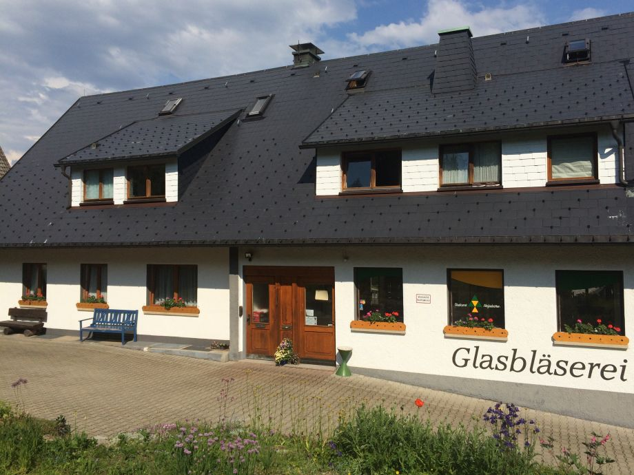 Wohnung und Glasbläserei
