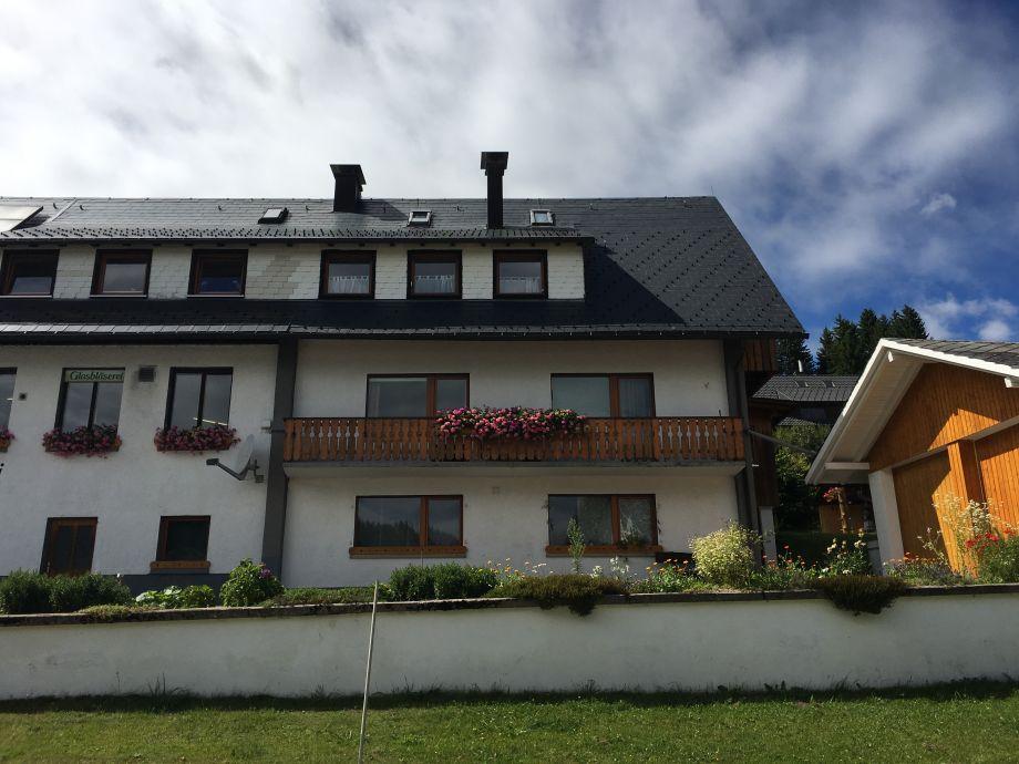 Außenaufnahme Haus Schmidt Feldberg