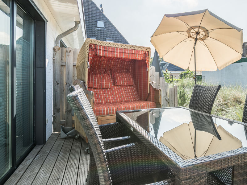Ferienwohnung Dünenoase im Haus Strandpirat1