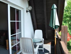 Ferienwohnung Typ A, Balkon 1/3