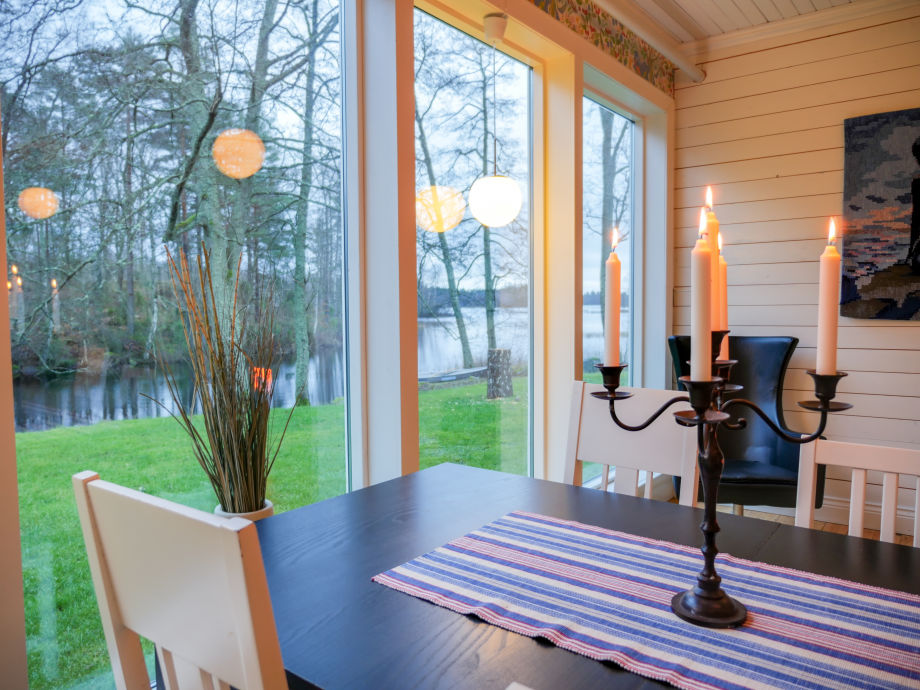 Holiday house Sjövillan with hot tube right by the lake, Sweden ...