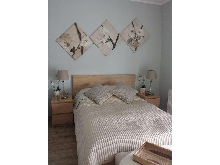 Doppelbett/ Schlafbereich