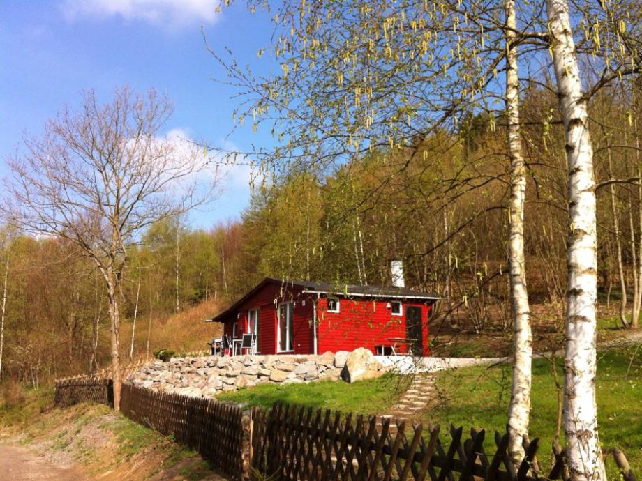 Die Himbeerhütte im Frühling...