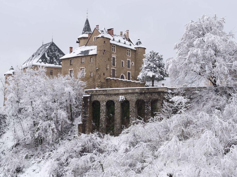 Märchenhaft auch im Winter