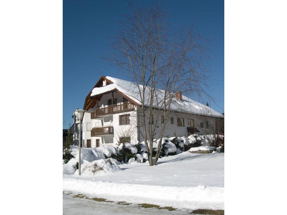 Haus an der Gutach Nr. 12 im Winter