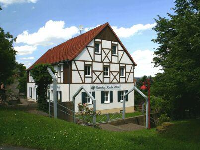 """Erdgeschoss links auf dem Ferienhof """"An der Weide"""""""