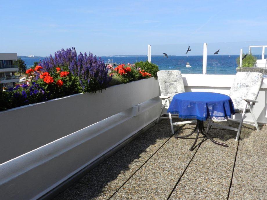 Balkon mit wunderbarem  Seeblick