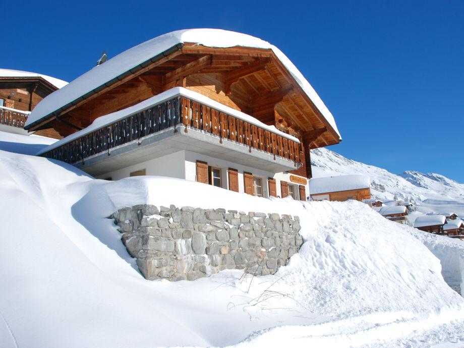 Chalet Wachsmuth im Winter