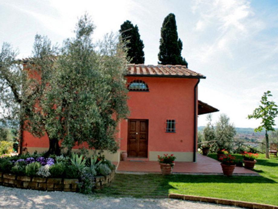 Ferienhaus gli Olivi in Panoramalage