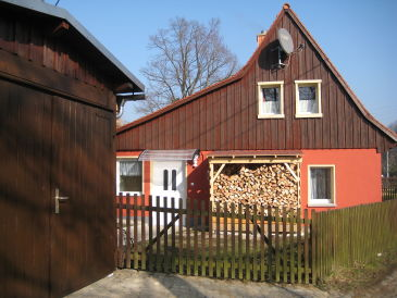 """Ferienhaus """"Mandauhäusel"""" mit Sauna"""