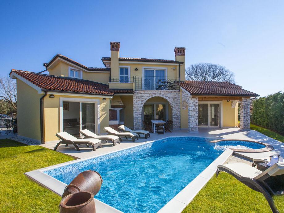 Außenansicht und Pool