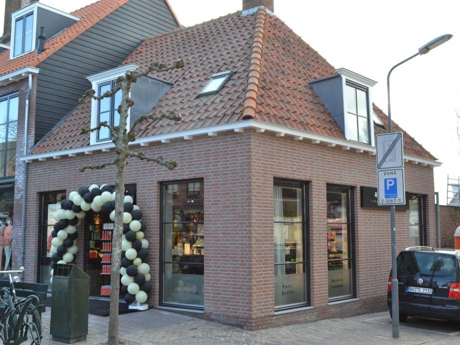 Außenaufnahme Markt 5 Domburg