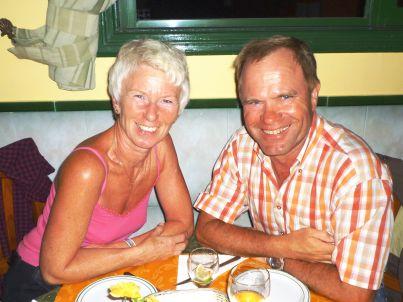 Ihr Gastgeber Gudrun und Dieter Kunkelmann