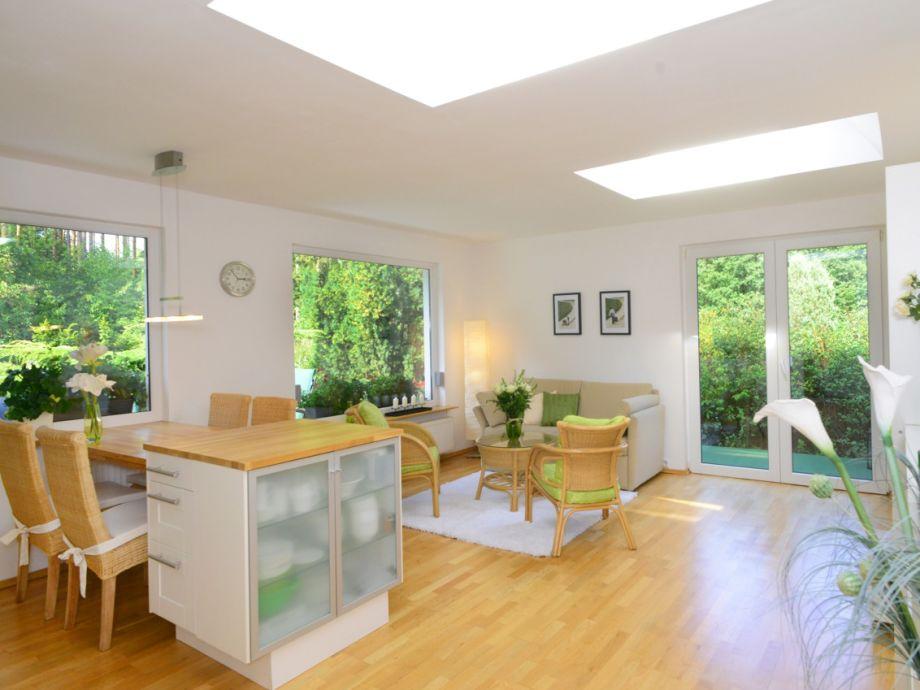 Wohnzimmer im Grünen