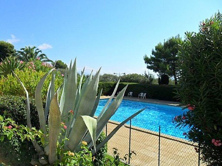 Ferienwohnung in einer Residenz mit Pool