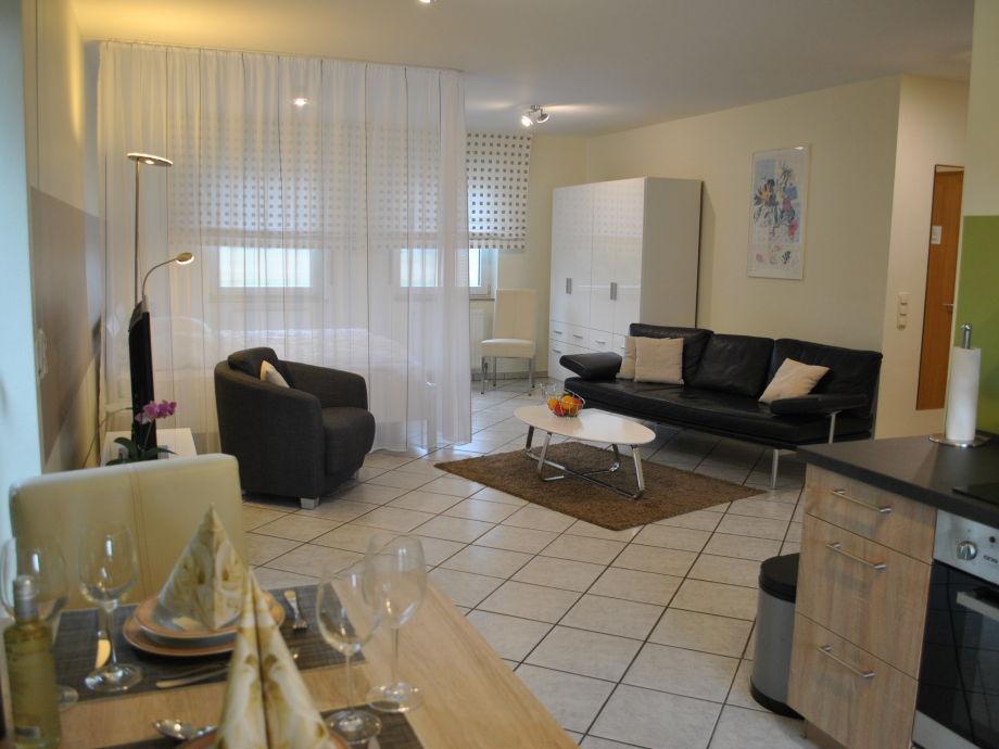 Wohnraum - Blick von der Küche