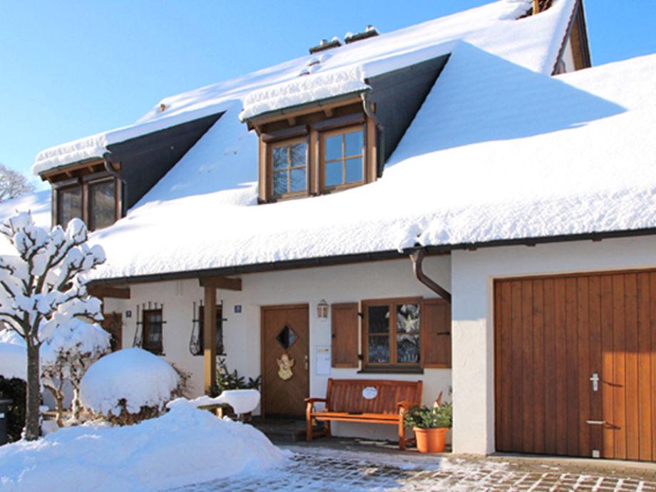 Ferienhaus Grüntenblick Sonthofen Winterfoto