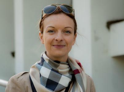 Your host Agnieszka Wolska
