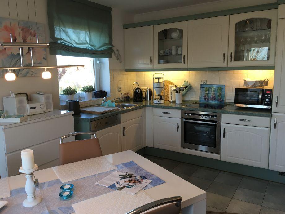 Wohnung 6 voll ausgestattete Küche