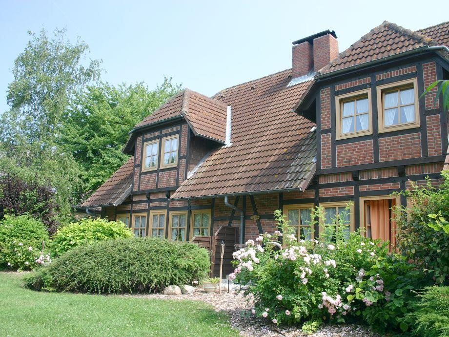 Das Fachwerkhaus auf dem Bauernhof Hopp