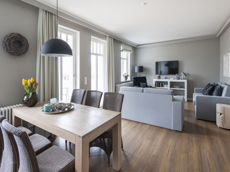 3 Raum Apartment in der Villa Minerva
