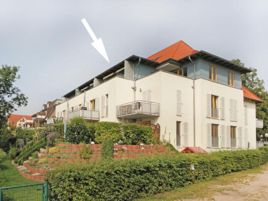 Seeschwalbe Whg. Sew14 - Blick auf das Appartementhaus