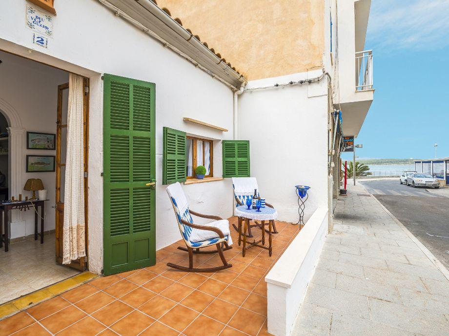 Ferienhaus Pagell mit Terrasse