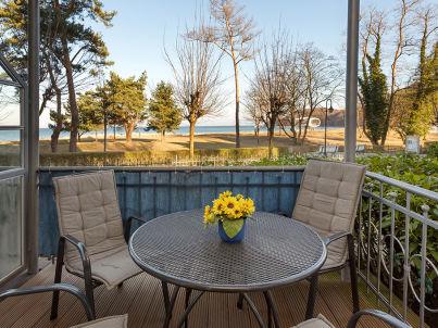 Ostseeblick in der Villa Stranddistel