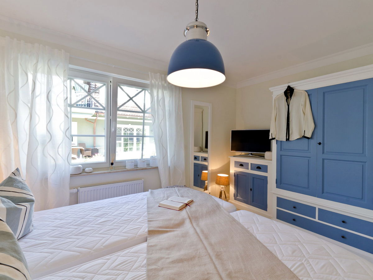 Ferienwohnung grandiose zingst firma unikat immobilien for Schlafzimmer maritim