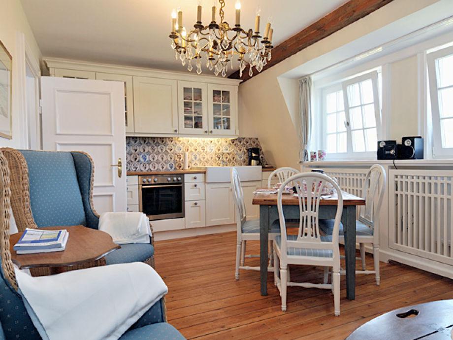 Wohnbereich mit Küchenbereich