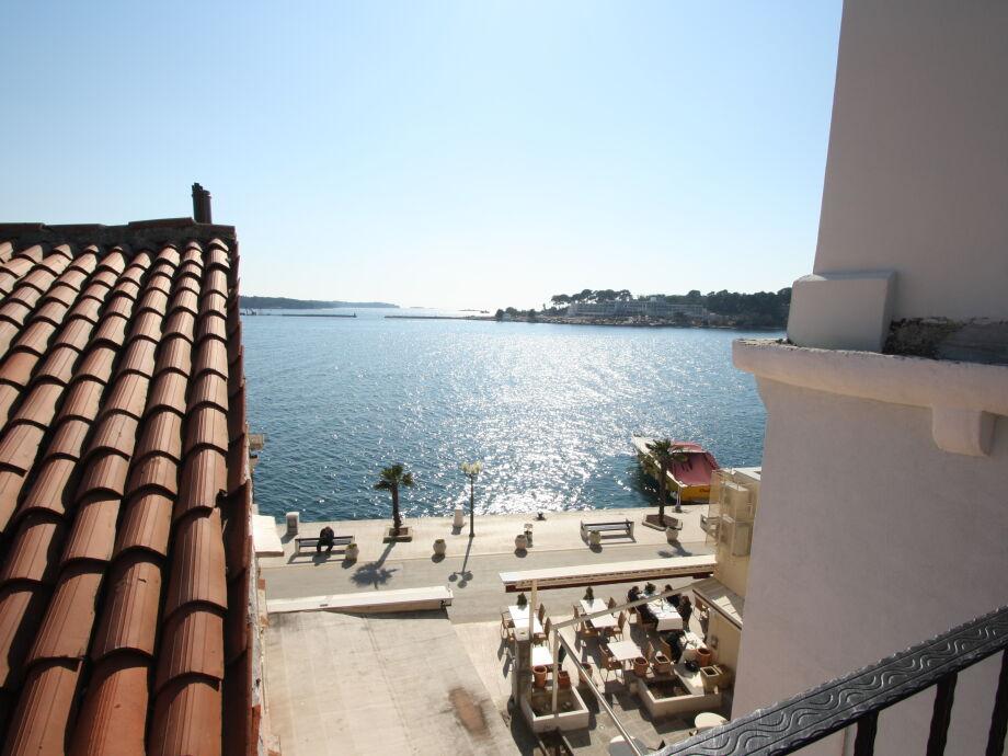 Fantastischer Meerblick vom Balkon aus