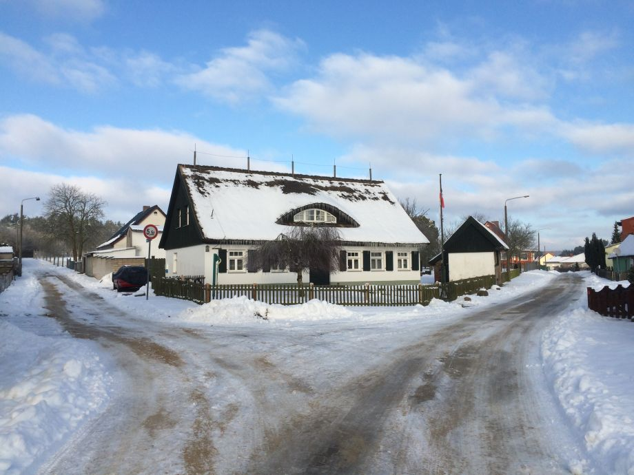 the Vogelhus in winter