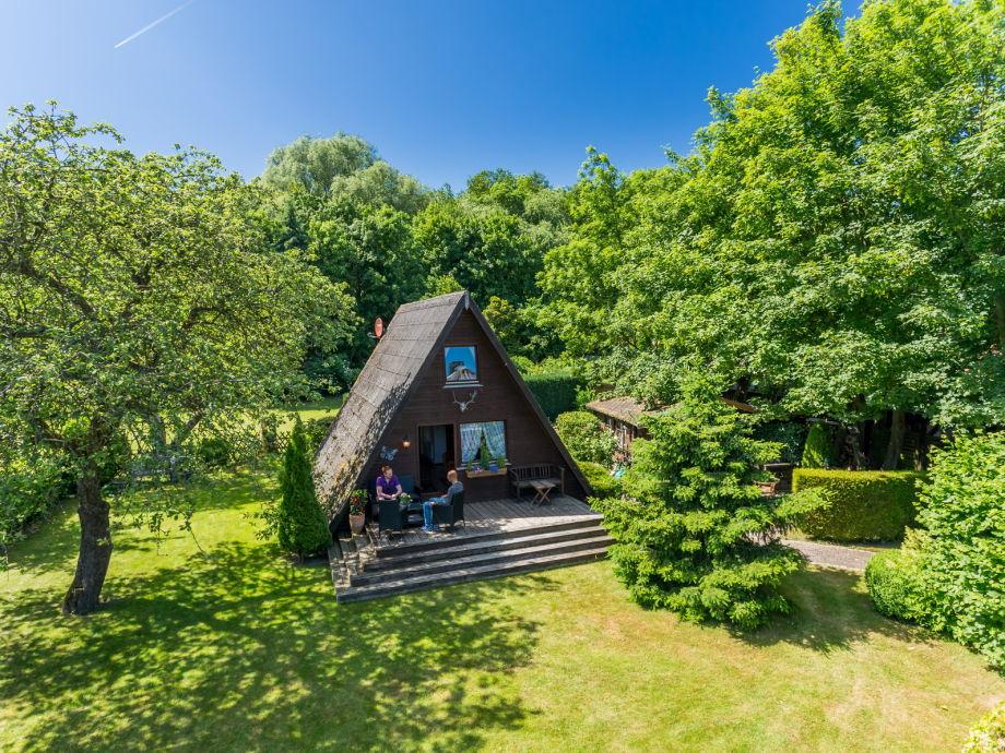 Ferienhaus in Wangels mitten in der Natur