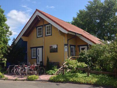Finnisches Vollholzhaus auf Rügen