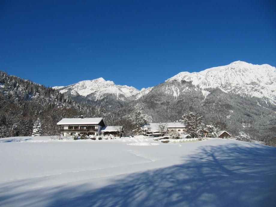 Landhaus Fellnerbauer im Winter