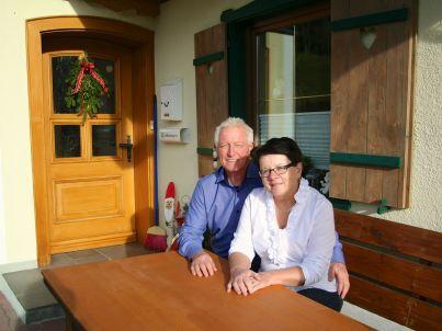 Ihr Gastgeber Sophie und Sepp Moser