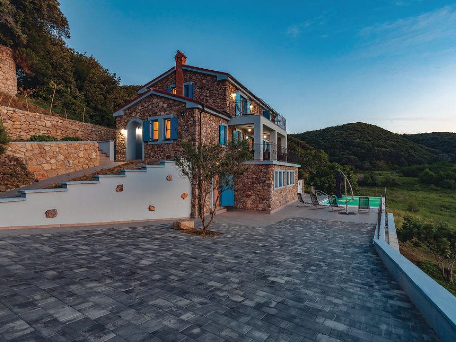 Außenaufnahme Villa Lapida