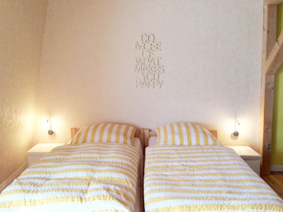 Schlafbereich / Betten auch einzeln stellbar