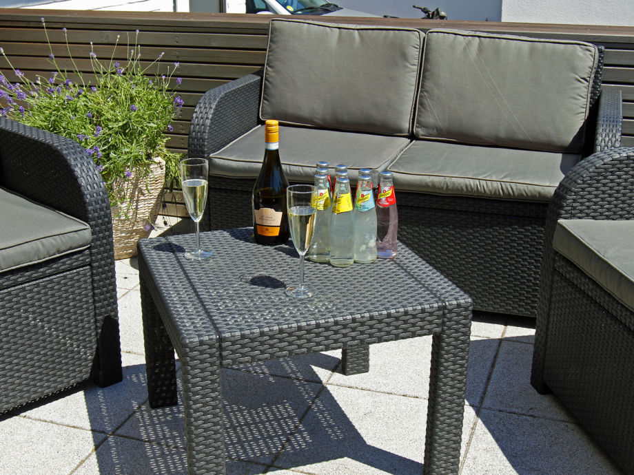 tolle Terrasse