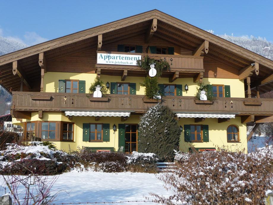 Winter im Landhaus Jetzbach