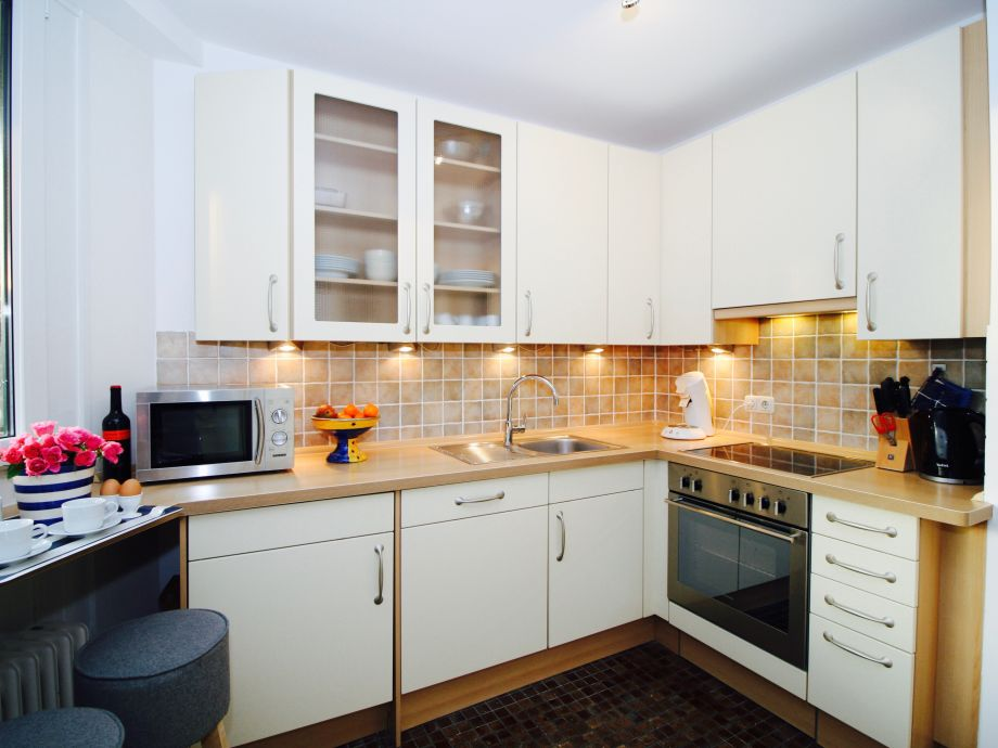 comfortable furnished kitchen
