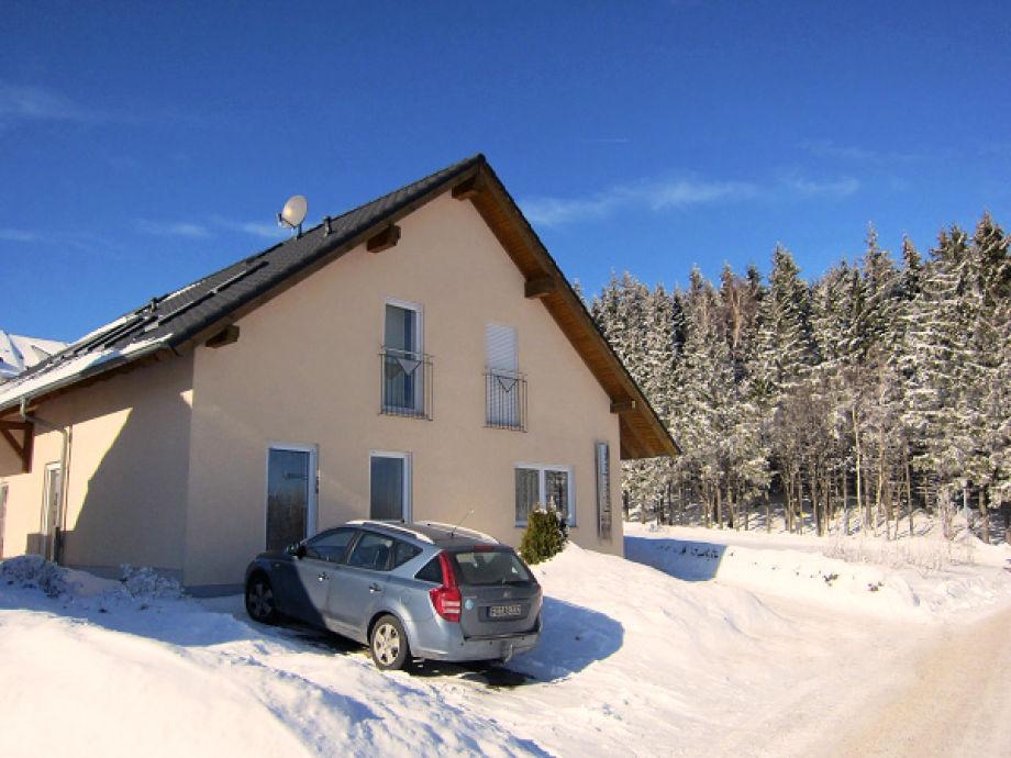 Ferienwohnungen Bub, Winteransicht