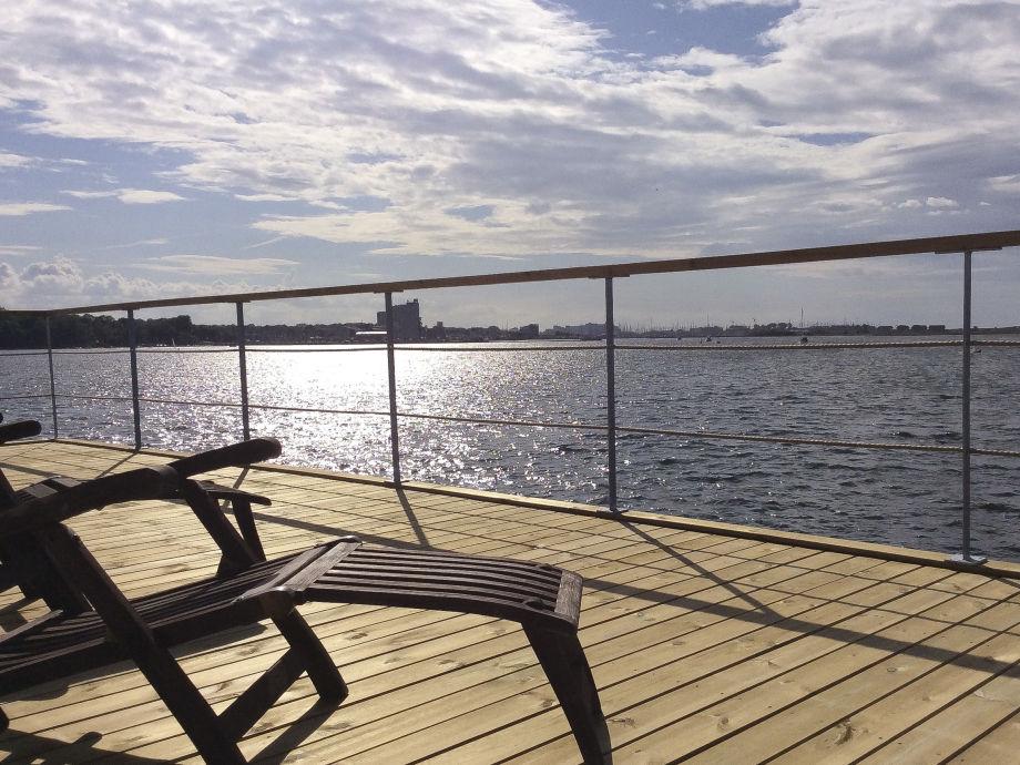 Ihr Sonnendeck mit Blick auf Heiligenhafen