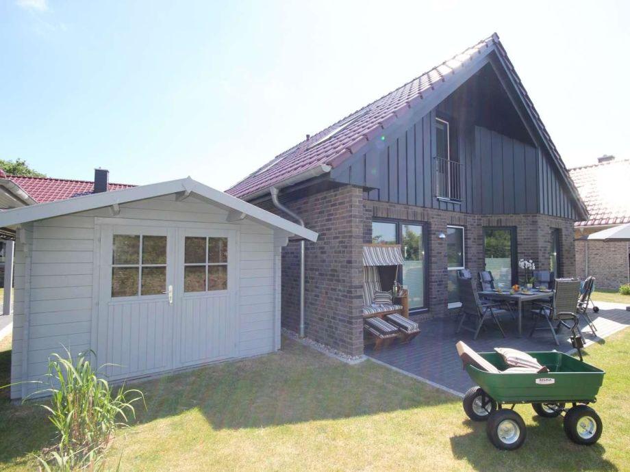 Das Ferienhaus im Dorf Südstrand