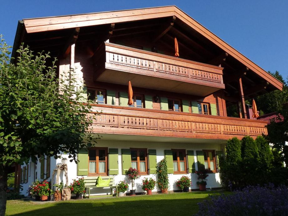 Haus Eckhardt in der Abendsonne