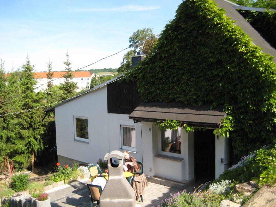 """Ferienhaus """"Große Reblaus"""" im Sommer"""