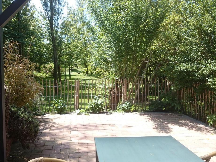 Ein schönes Aussicht auf unsere natürlichen Garten